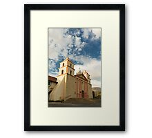 Santa Barbara Mission Framed Print