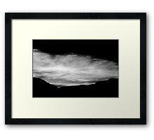 big sky little valley.............daniland Framed Print