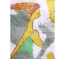 mermaid sleep (cropped) Photographic Print