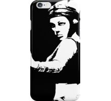 I will defend the weak because I am strong iPhone Case/Skin