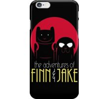 The Adventures of Finn and Jake shirt phone ipad case mug poster iPhone Case/Skin