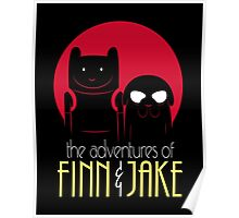 The Adventures of Finn and Jake shirt phone ipad case mug poster Poster
