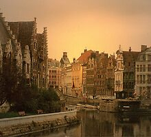 Ghent - Belgium by Gilberte