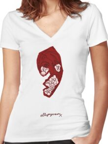 'Ruby Rose' Women's Fitted V-Neck T-Shirt
