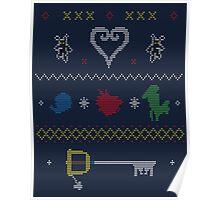 Kingdom Hearts Xmas Poster