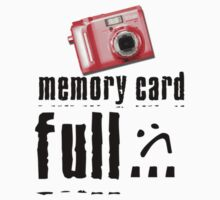 Memory Card Full by Barb Leopold