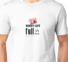 Memory Card Full Unisex T-Shirt