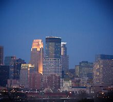 Minneapolis Skyline by Amy Dokken