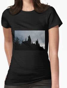 Black castle Womens Fitted T-Shirt