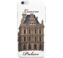 Louvre Palace iPhone Case/Skin