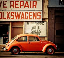 We Repair Volkswagens by Sam Scholes