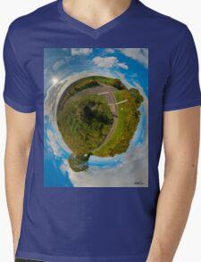Country Roads - Killea Crossroads, Derry, N. Ireland Mens V-Neck T-Shirt
