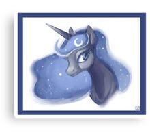 Princess Luna - Portrait Canvas Print