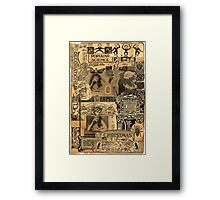 Popular Science. Framed Print