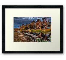 """""""Sundown at Charlemont"""" Framed Print"""