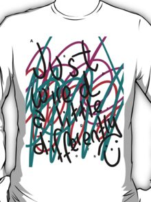 """Autism Aspergers Syndrome - """"Just wired a little differently"""" T-Shirt"""