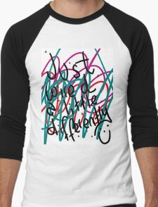 """Autism Aspergers Syndrome - """"Just wired a little differently"""" Men's Baseball ¾ T-Shirt"""