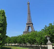 Eiffel Tower by OnTheRoadAgain