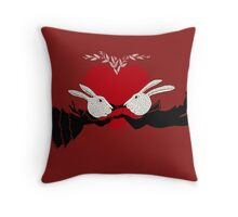Perils of Passion Throw Pillow
