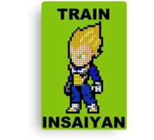 Super Saiyan Vegeta 8MB - Train Insaiyan Canvas Print