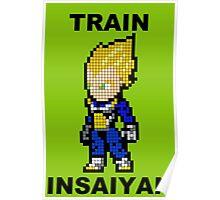 Super Saiyan Vegeta 8MB - Train Insaiyan Poster