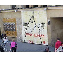 Paris Graffiti Photographic Print
