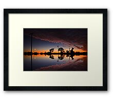 That sky Framed Print