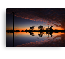 That sky Canvas Print