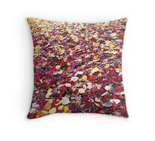 Autumn Quilt: Adelaide Hills, South Australia Throw Pillow