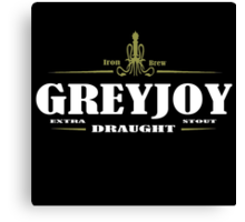 Greyjoy Draught Canvas Print