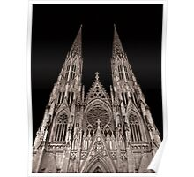 St. Patrick's Cathedral (NYC) Poster