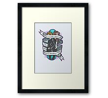 Born to Express Yourself Framed Print