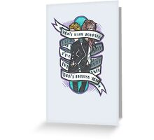 Born to Express Yourself Greeting Card