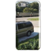 Never a boring day here iPhone Case/Skin