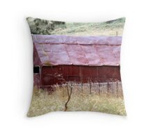 Home Made & Rusty Red Throw Pillow