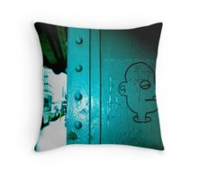 Shady Character Throw Pillow