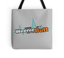 Weenie And The Butt Tote Bag