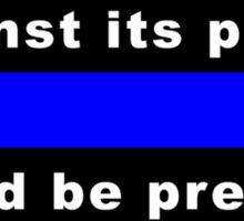 War against police? Sticker