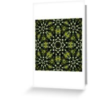 The Tangled Green Greeting Card