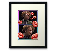 Brule kisses Framed Print