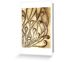 NOUVEAU COLLECTION ~ MAELSTROM Greeting Card