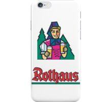 Rothaus Pils iPhone Case/Skin