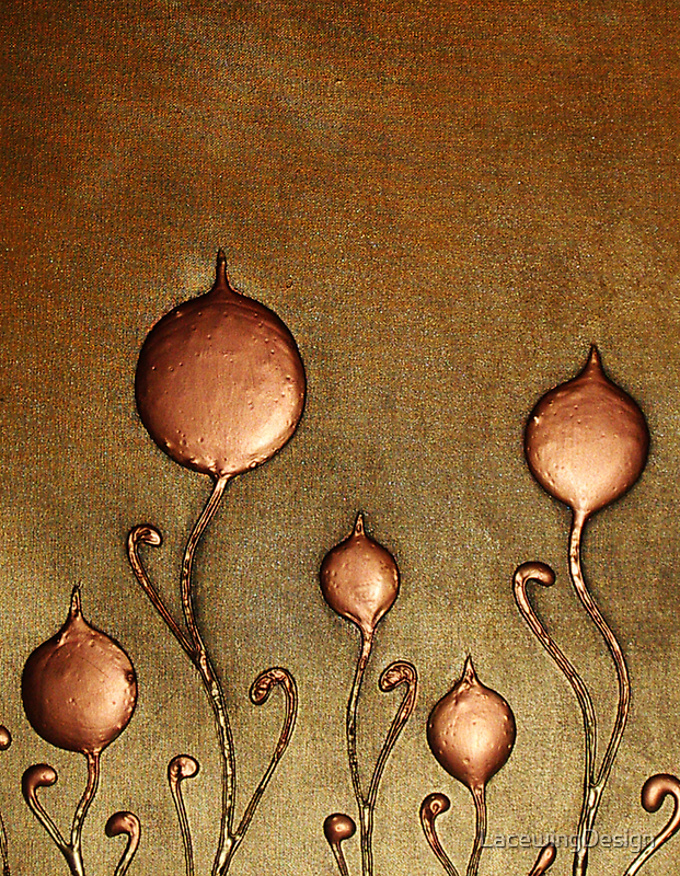 ABSTRACT BOTANICAL NOUVEAU COLLECTION ~ TULIPS by LacewingDesign