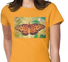 On the gentle wings Womens Fitted T-Shirt