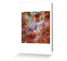 Cosmic Mushrooms 3 Greeting Card