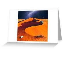 Dune Warriors Greeting Card