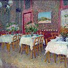 'Interior of a Restaurant' by Vincent Van Gogh (Reproduction) by Roz Abellera Art Gallery
