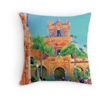 The Field Trip to San Diego and Balboa Park Throw Pillow