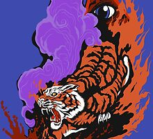 SmartPhone Cases, Eye Of The Tiger: by Cloud-Drawings