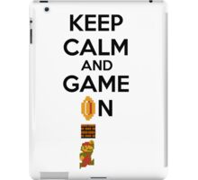 Keep Calm And Game On! iPad Case/Skin